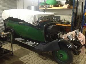 Restauration de voiture 4