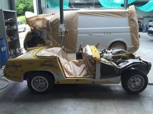 Restauration de voiture 15