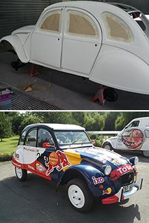 Peinture automobile en Ille et Vilaine