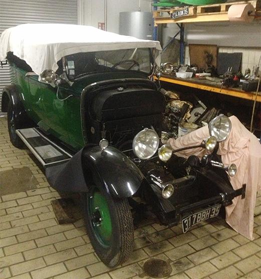 Restauration de véhicule en Ille et Vilaine